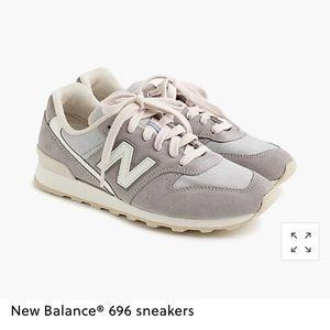 Blush/gray Jcrew New Balance sneakers new in box!
